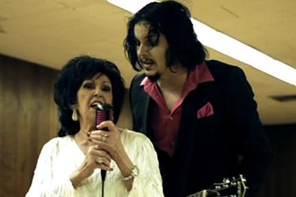 Jack White and Wanda Jackson CoverDylan